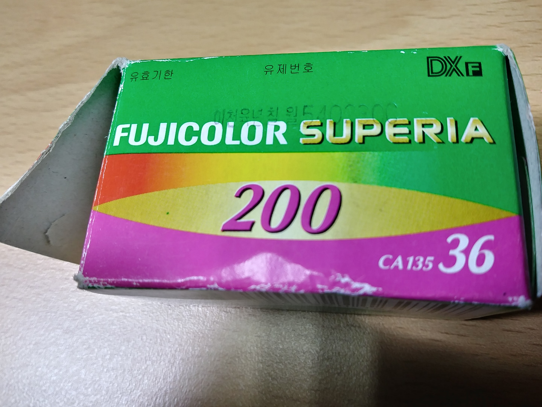 후지컬러 오토오토 슈페리어 SUPERIOR 200 36장
