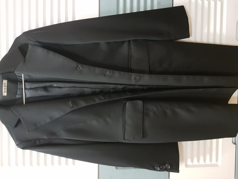 검정 코트