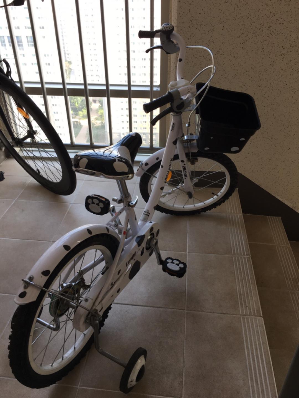 유초등 4발 자전거 삼천리 (손잡이 수리하셔야함)