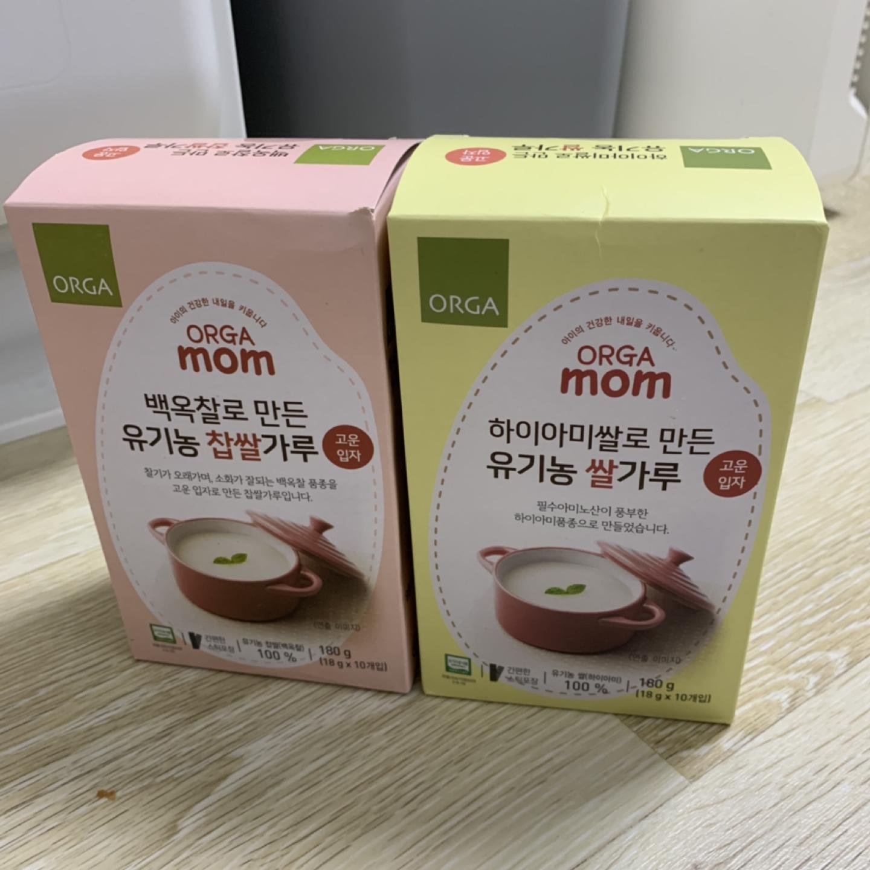올가쌀가루(새상품:쌀,찹쌀초기)