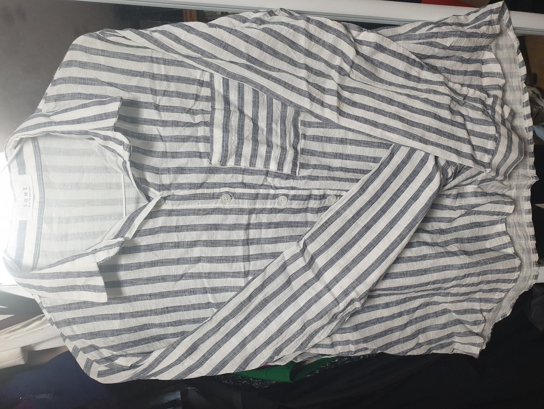 린넨스트라이프셔츠판매 (지금날씨에딱!!)