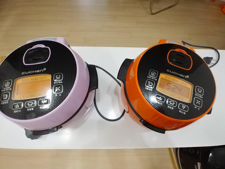 전기밥통 작은것2개