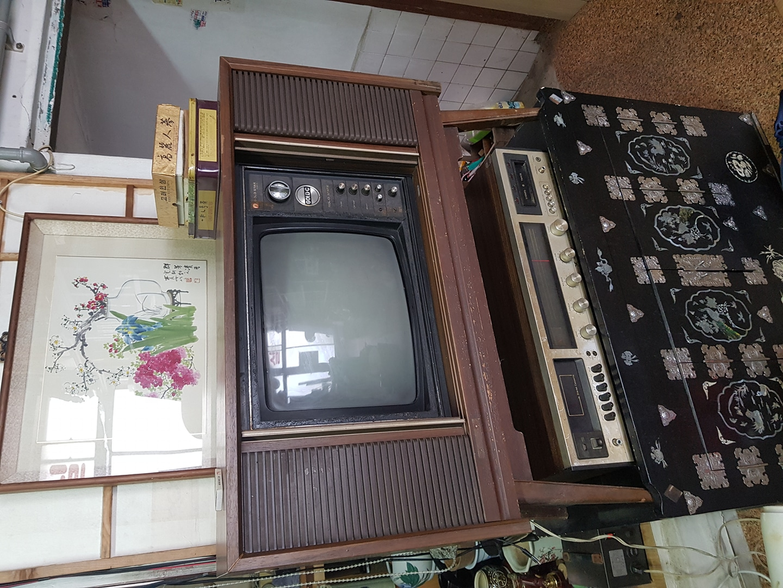 70년대 금성 텔레비젼 TV