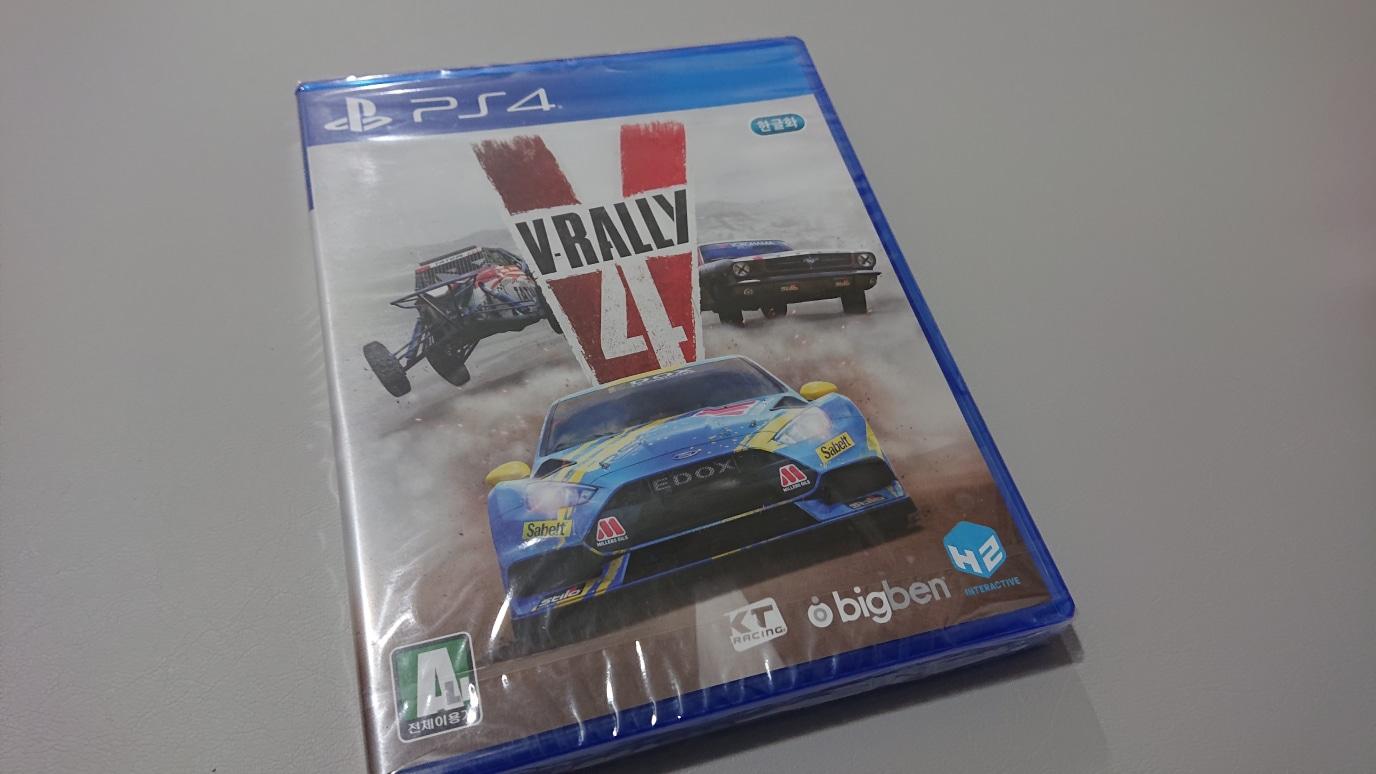 (레이싱) 브이랠리4 (V Rally 4) 미개봉 새제품