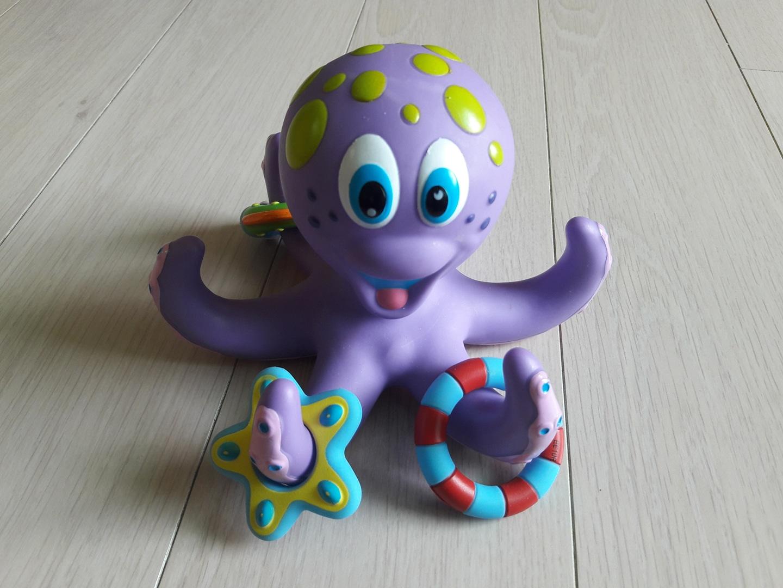누비 문어링 물놀이 장난감