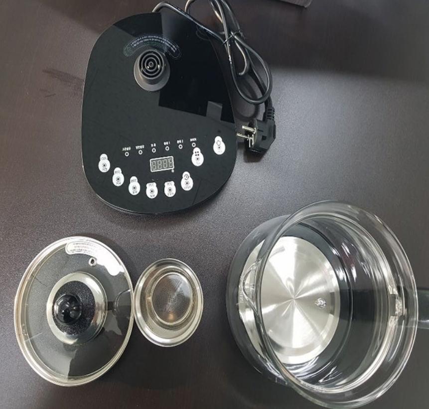 다용도 티포트 / 커피포트 / 유리전기주전자 / 전기포트 / 유리포트