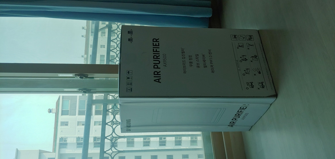 삼성 공기청정기 AX67R9880WFD 판매합니다.