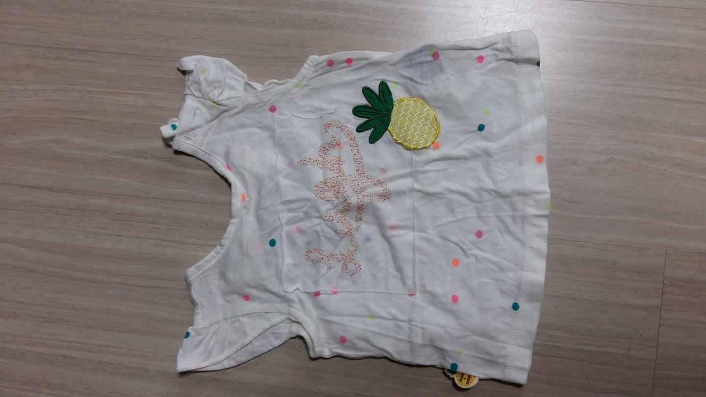 아기 여름 티셔츠(알루앤루 90)
