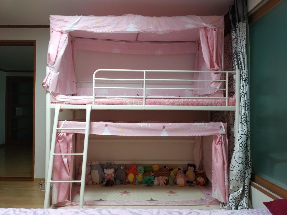 철재 이층침대(2층침대)
