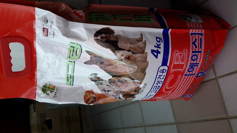도그랑에이스 4kg 사료판매