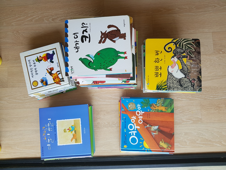 유아3~4살 읽히면 좋은책들