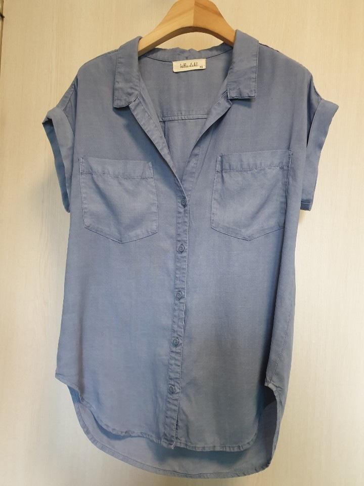 벨라달 (bella dahl)정품 소라색 셔츠