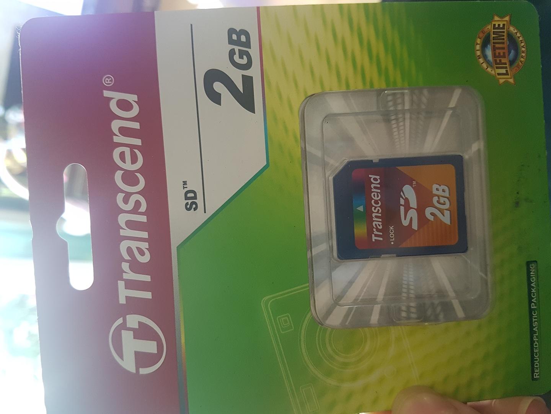 2GB SD카드 새제품