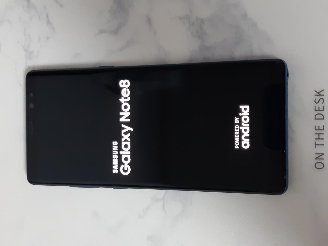 [스마트폰] 외관A급 갤럭시 노트8 블루