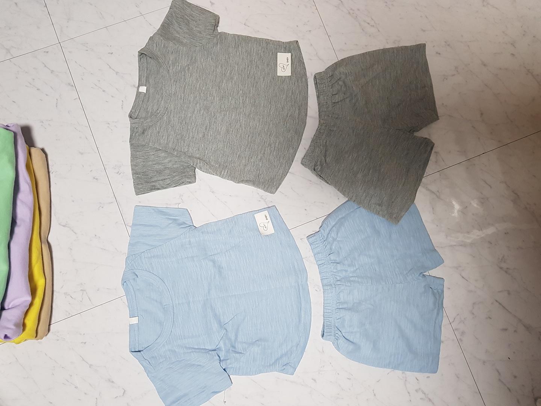 새옷같이 깨끗한 아기옷/세트/한벌/유아옷/돌아기옷/여름옷/
