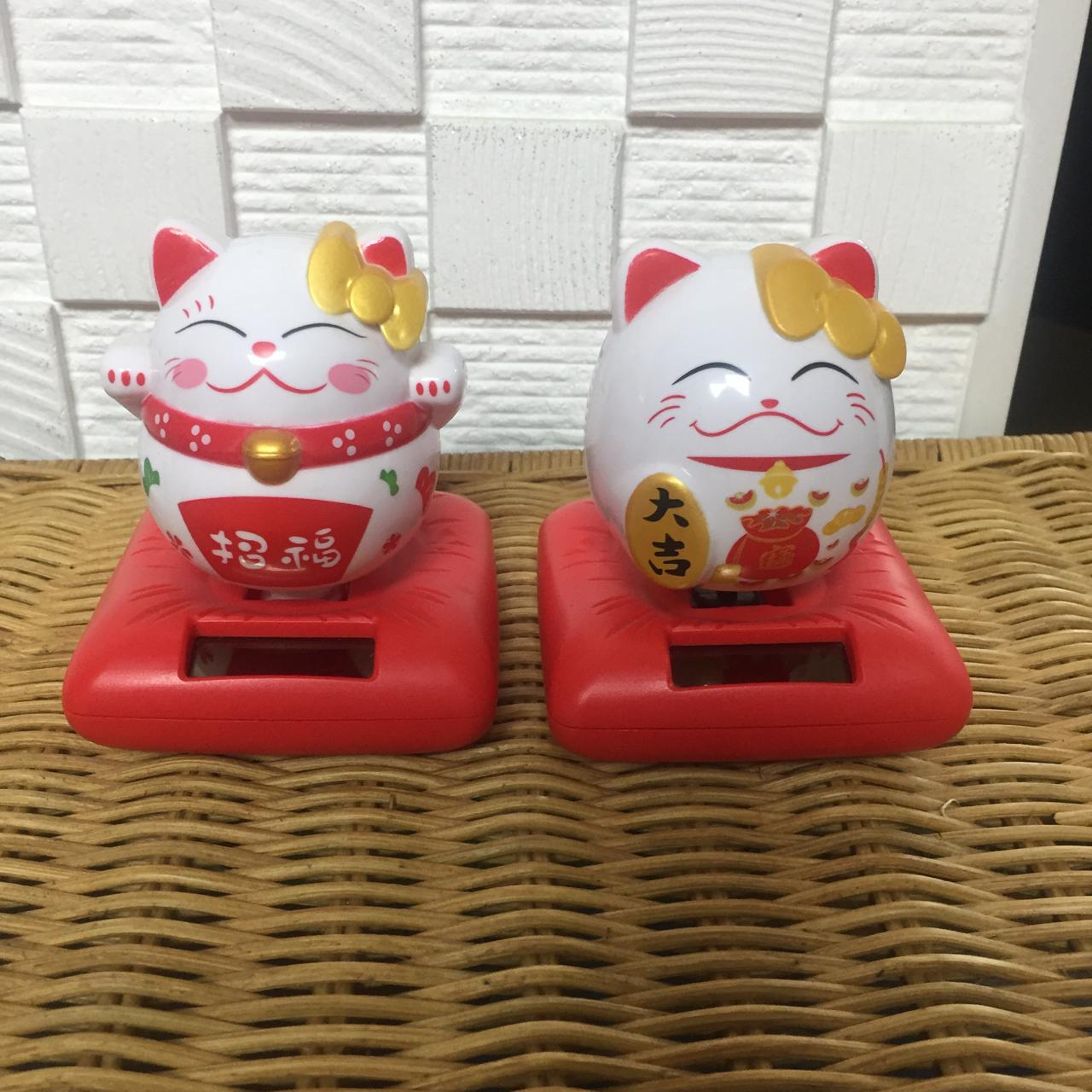 일본 복고양이 마네키네코 2개 (묶음판매)