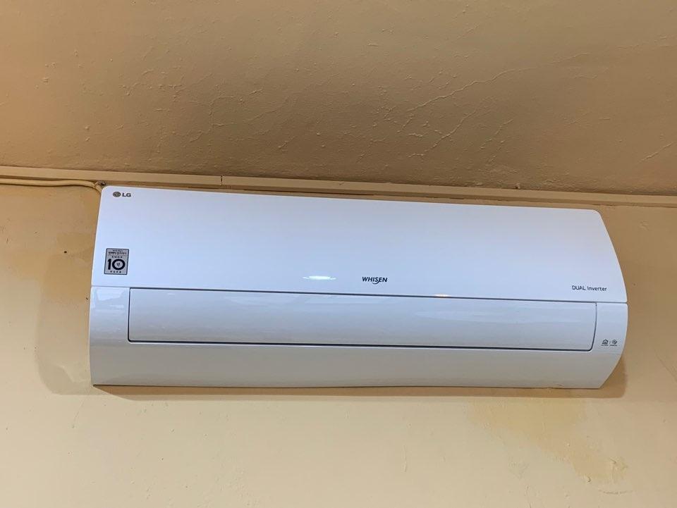 LG전자휘센 16평형 벽걸이 냉난방 에어컨 sw16b7kwas 팝니다.