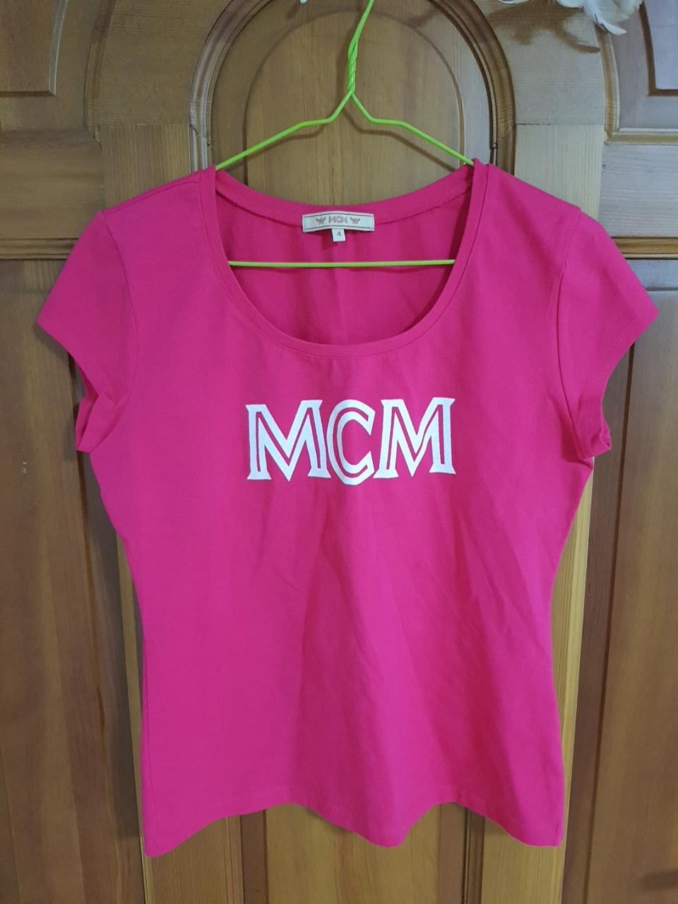 MCM 반팔셔츠