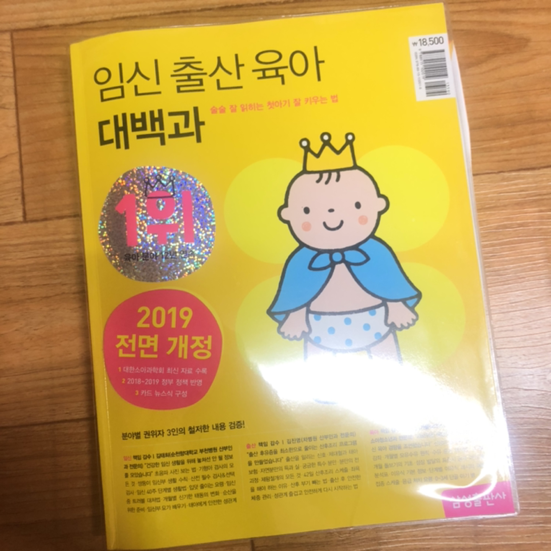 임신출산 육아대백과 2019 전면개정 새상품