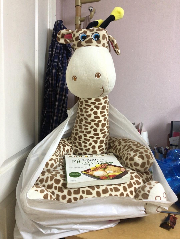 새상품) 기린봉제인형쇼파
