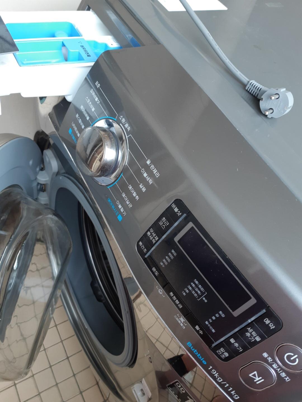삼성세탁기 버블샷3 19kg 건조기능 포함