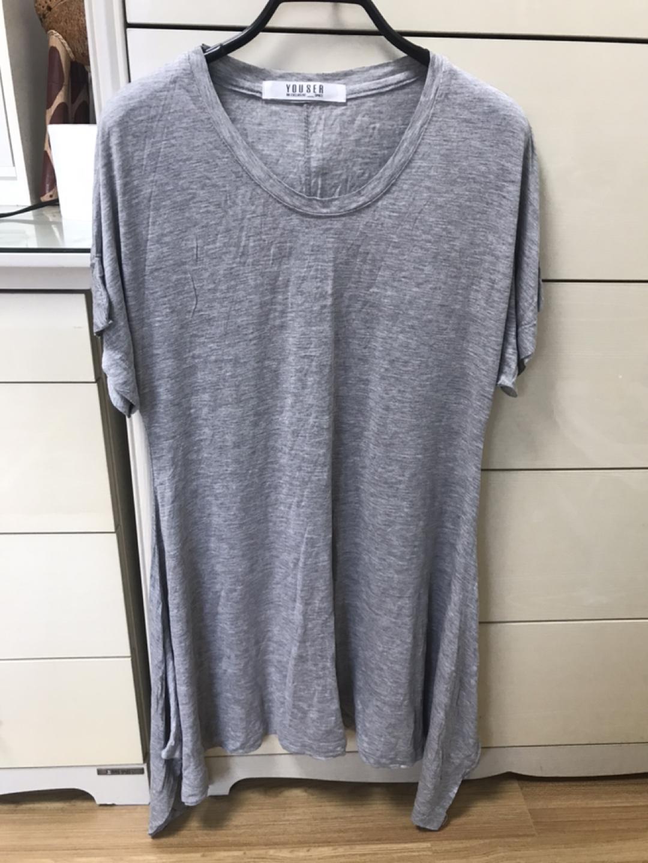 반팔 롱 티셔츠(새상품)