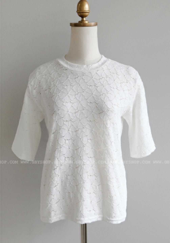 클로버 반팔 티셔츠