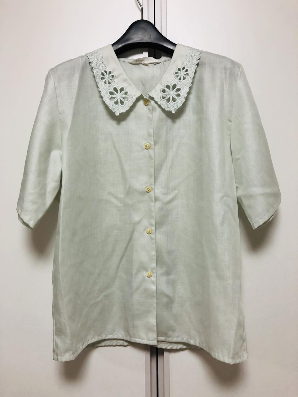 일본 빈티지 민트 셔츠