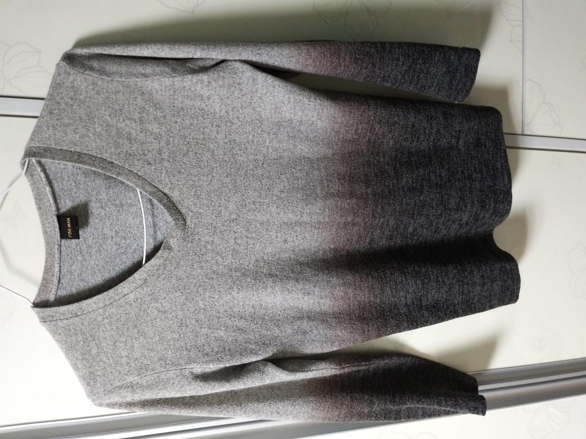 남성 브이넥 벨벳 챠콜95사이즈 티셔츠 판매해요^^