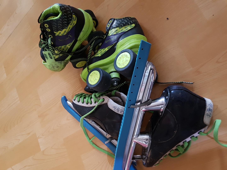 스케이트  ..180미리 두켤레가격