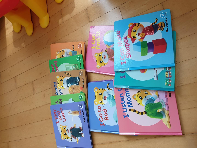 호비영어책 DVD12개