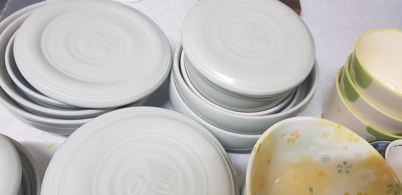 게르마늄그릇외 사기그릇