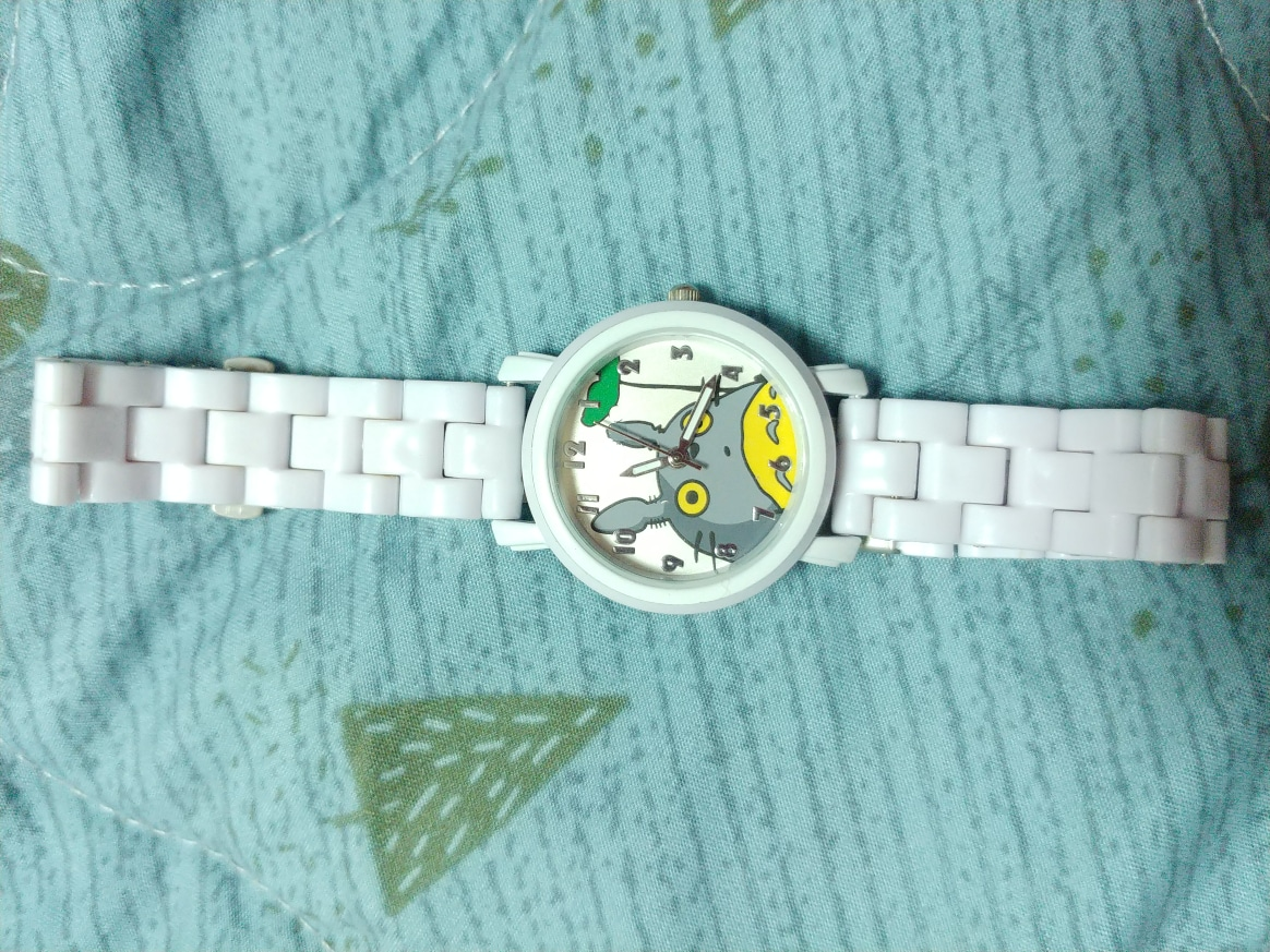 토토로 캐릭터 시계