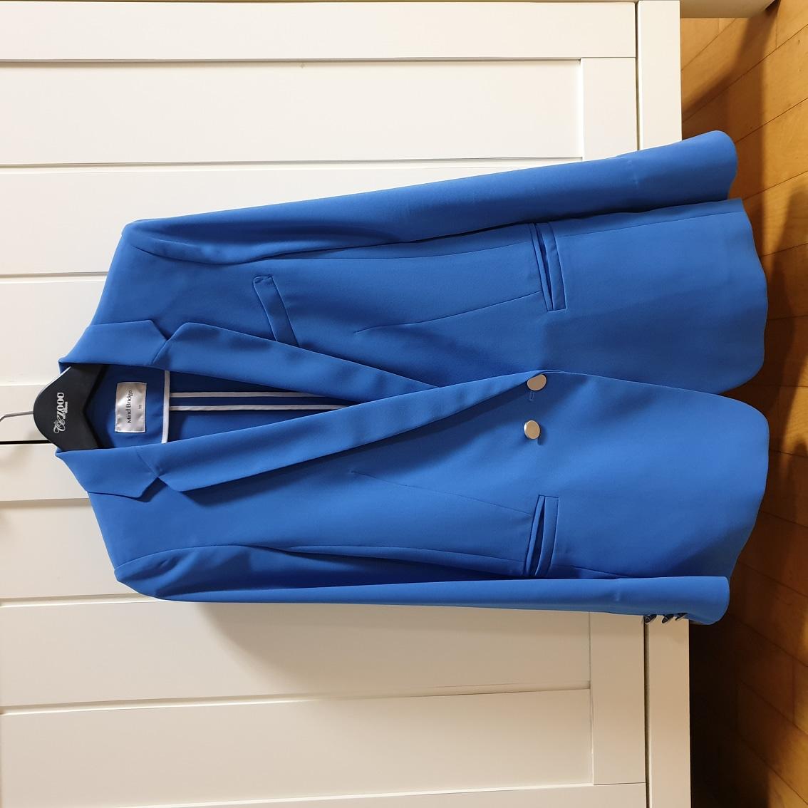 봄/여름 용 블루재킷(55사이즈)