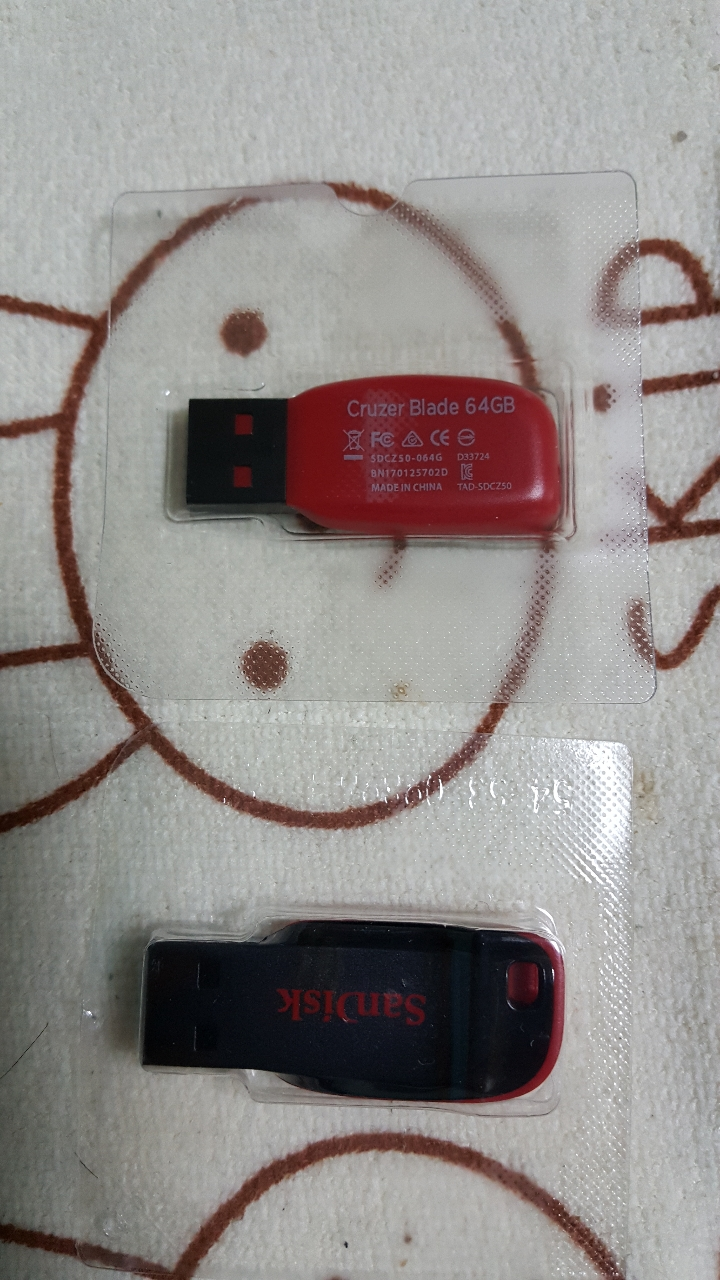 64기가 USB 2개 입니다