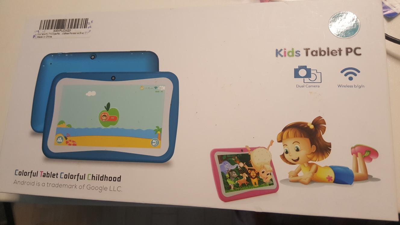 키즈 테블릿 pc    M755   kids tablet pc 유아 어린이
