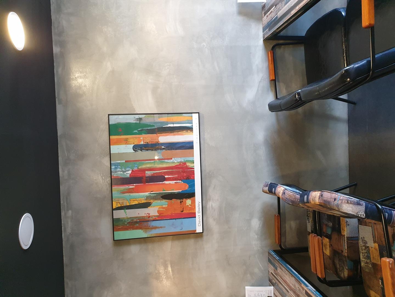 카페용 벽걸이 그림 액자 5개 세트 판매합니다.