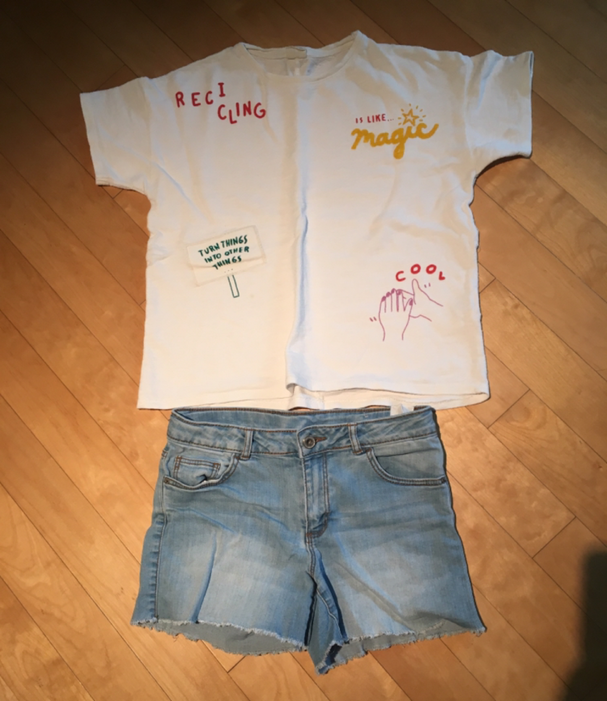 [ZARA] 여아 티셔츠 11-12