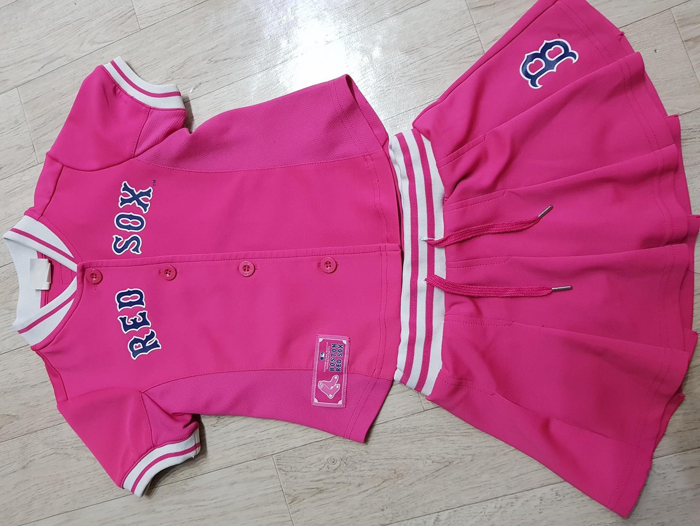 MLB 여아 옷한벌