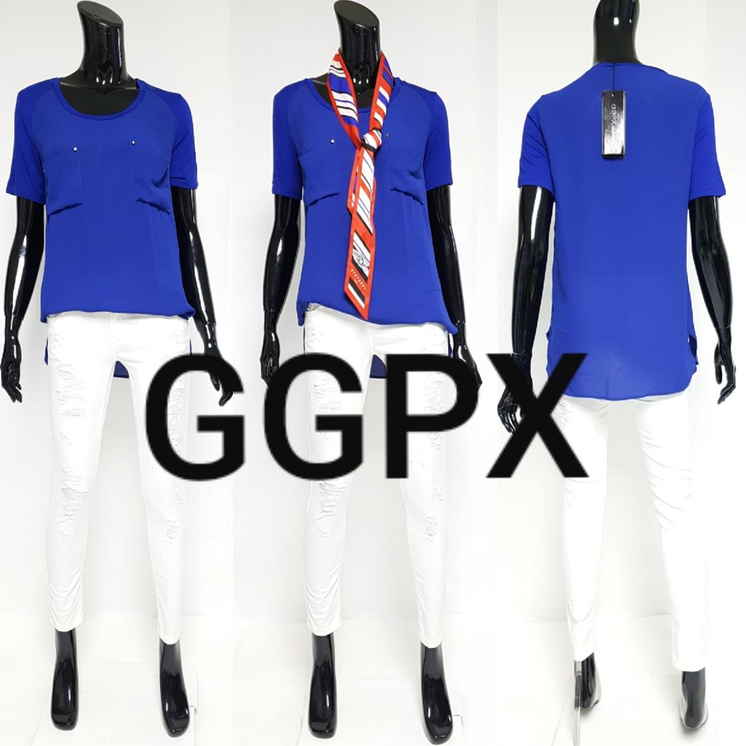 ♥GGPX새상품♥쉬폰블라우스티셔츠
