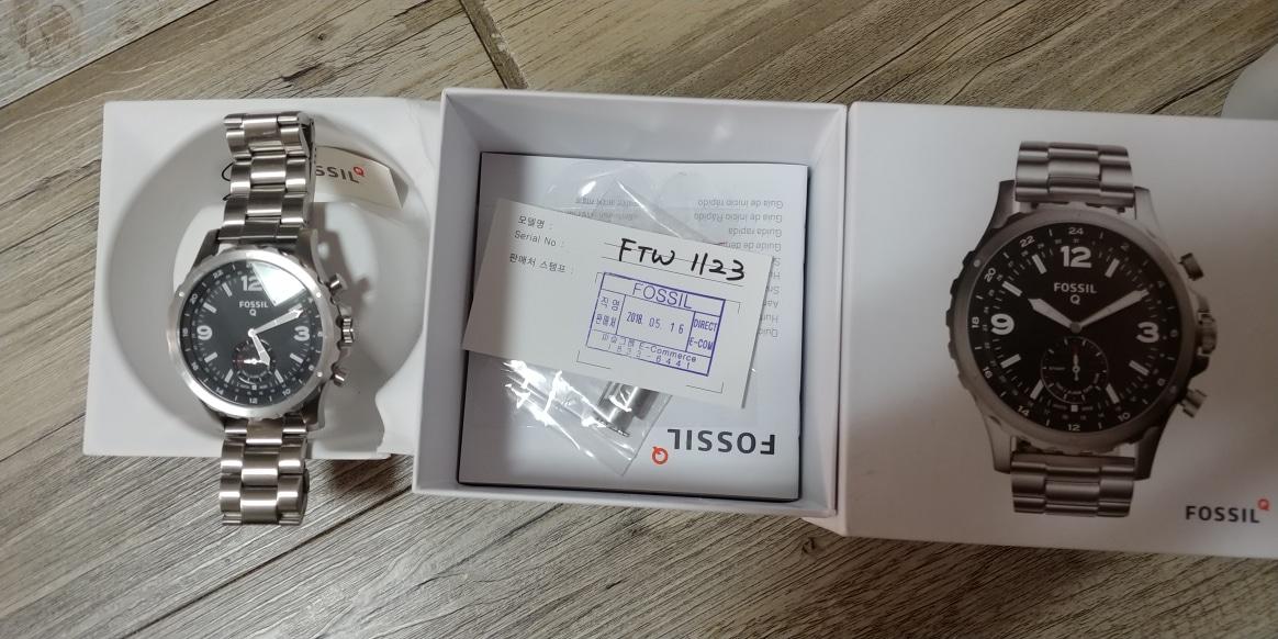파슬큐 하이브리드 스마트시계(FTW1123)