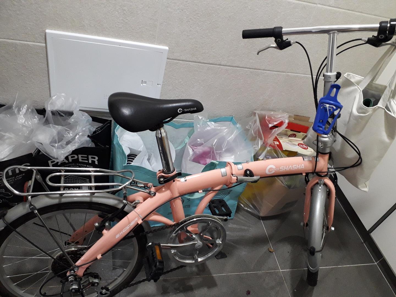 접이식 자전거~상태 좋아요~~