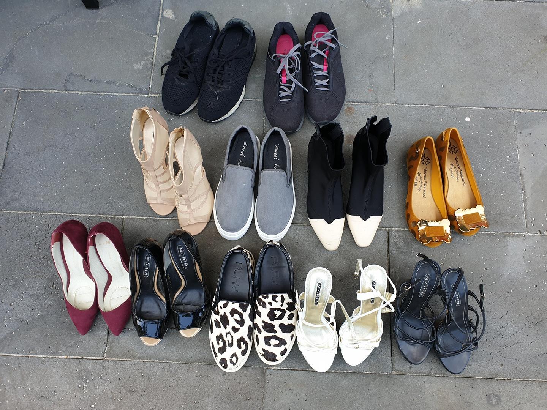 여성 신발 235사이즈. 종류많아요