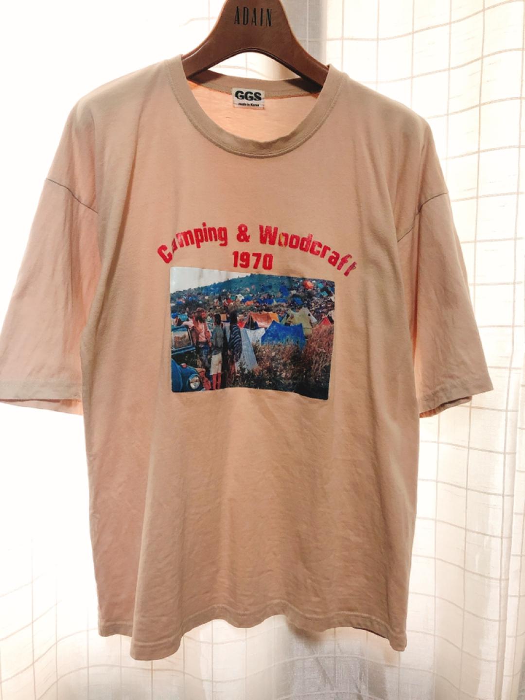 베이지 티셔츠 1+2