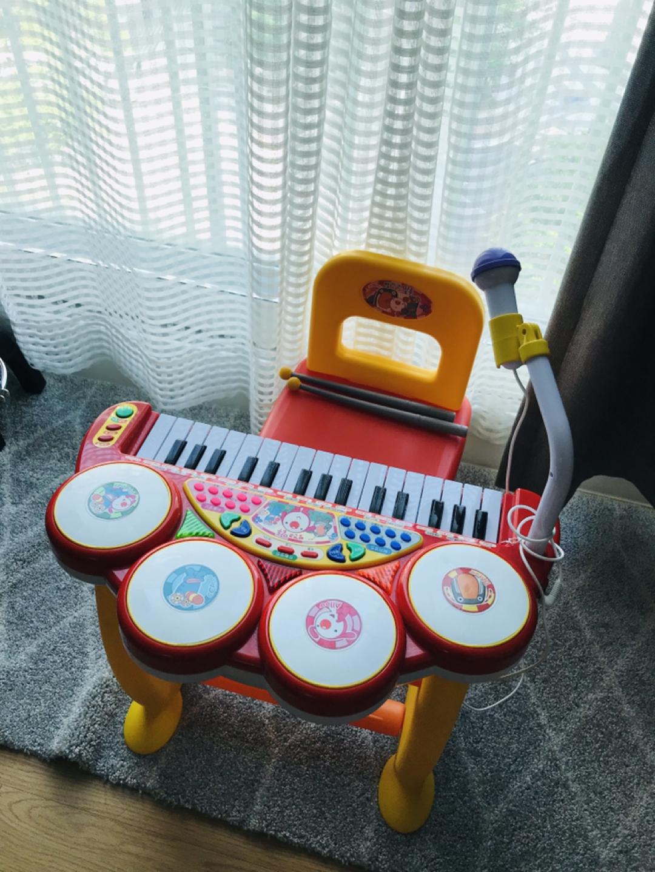 유아 피아노 (코니스 빨간코아루 키보드럼) + 드럼셋트