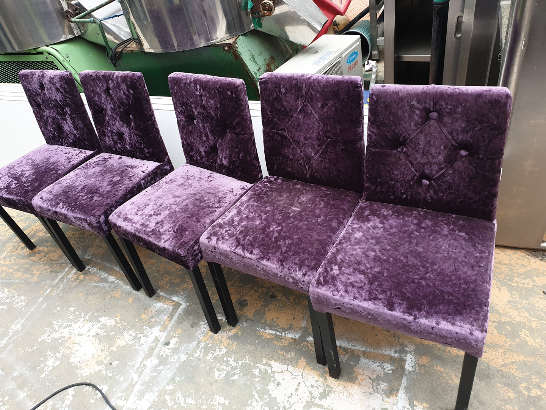 의자5개 인테리어 고급