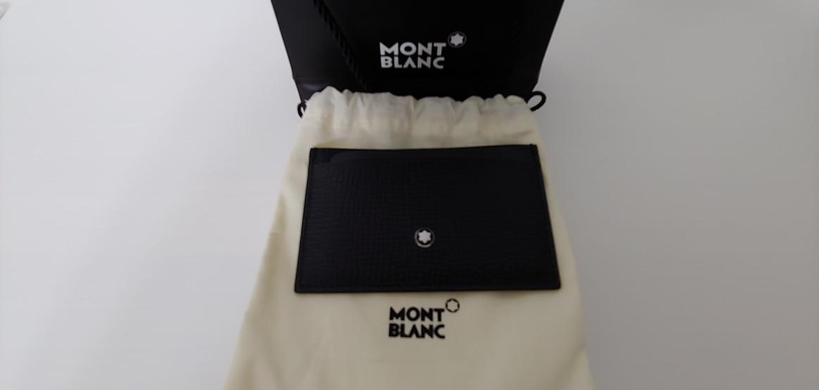 (가격내림)몽블랑 카드지갑