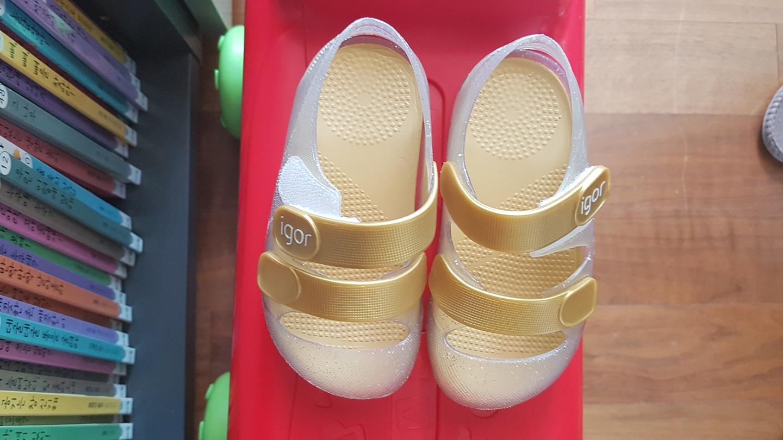 아기 여름신발이에요