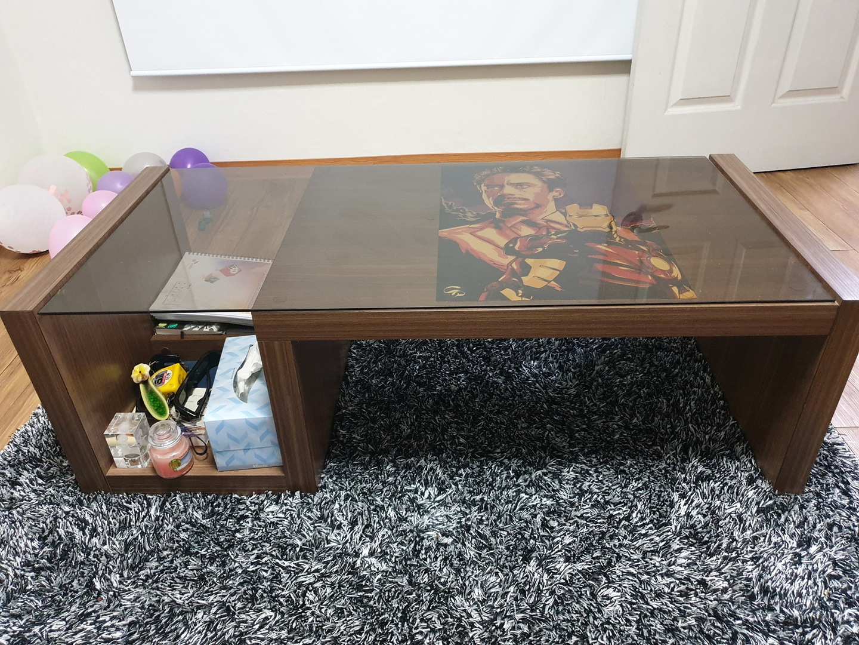 한샘 소파 테이블 팝니다^^ (테이블 거실테이블 좌식테이블)