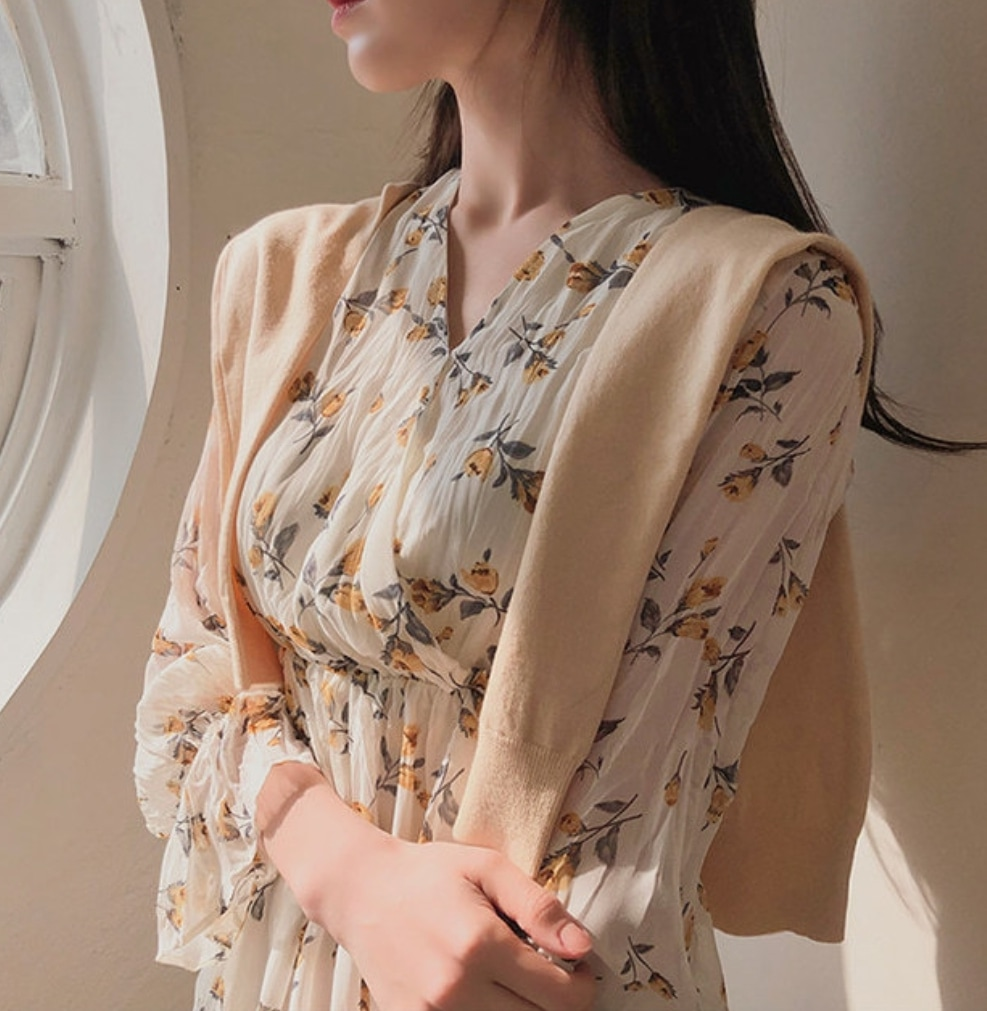 [옷장정리] 미니 쉬폰 원피스 :프롬데이원 쇼핑몰
